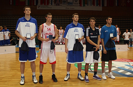 All Tournament Team, U20 European Championship 2012 Division B